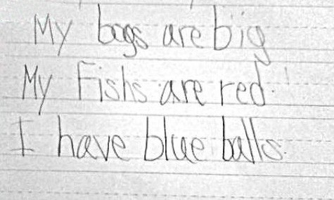 29 Of The Most Inappropriate Things Kids Write And Draw