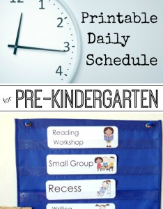 Pre  daily schedule for full and half day programs also preschool visual schedules rh kpages