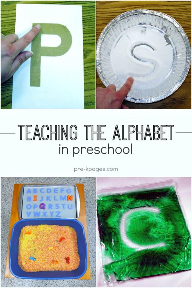 Alphabet Activities For Pre K And Preschool