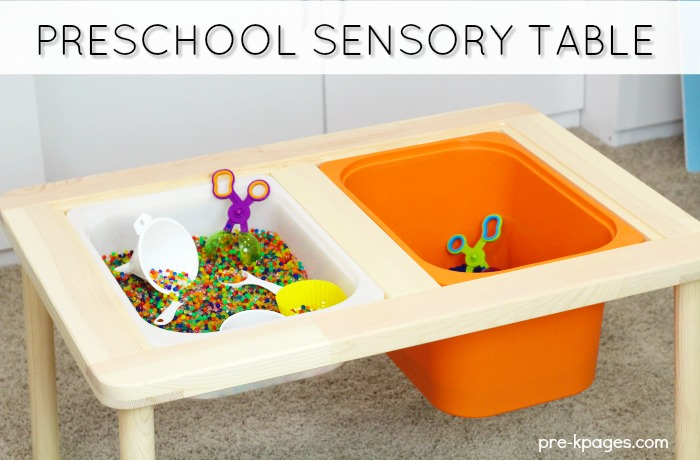 Sensory Bin Ideas for Preschool and Kindergarten