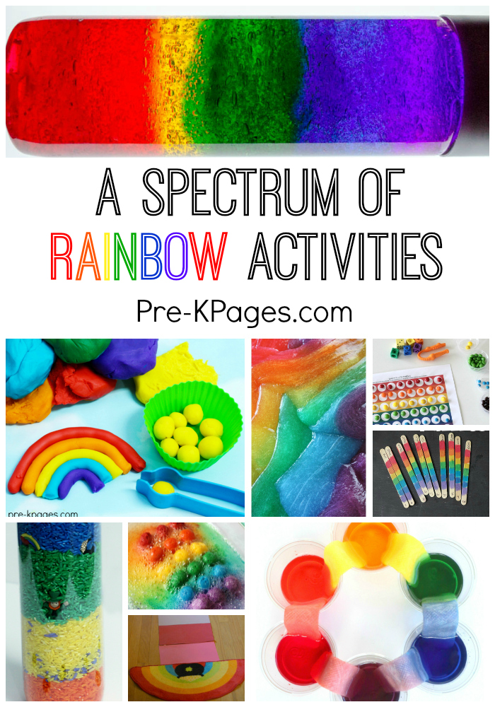 30 super fun rainbow