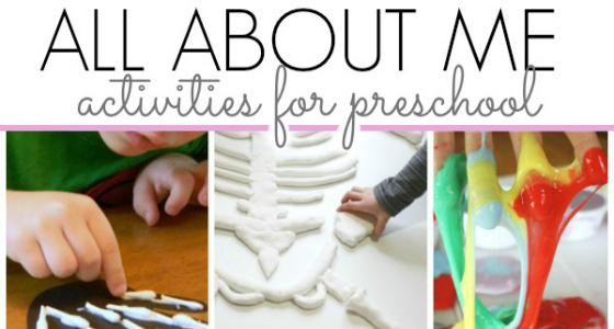 All About Me Preschool Activities Great For Back To School