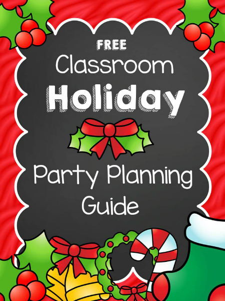 christmas classroom party planning