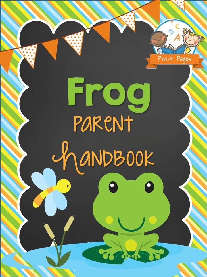 Frog Parent Handbook Pre K Pages