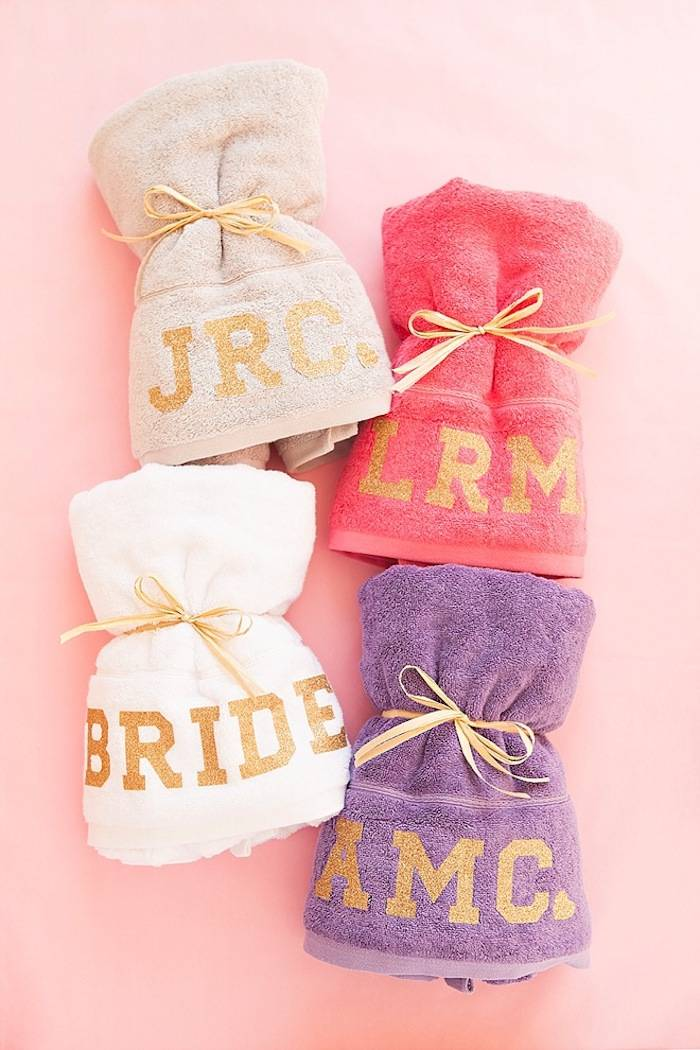 bridesmaid gift ideas for