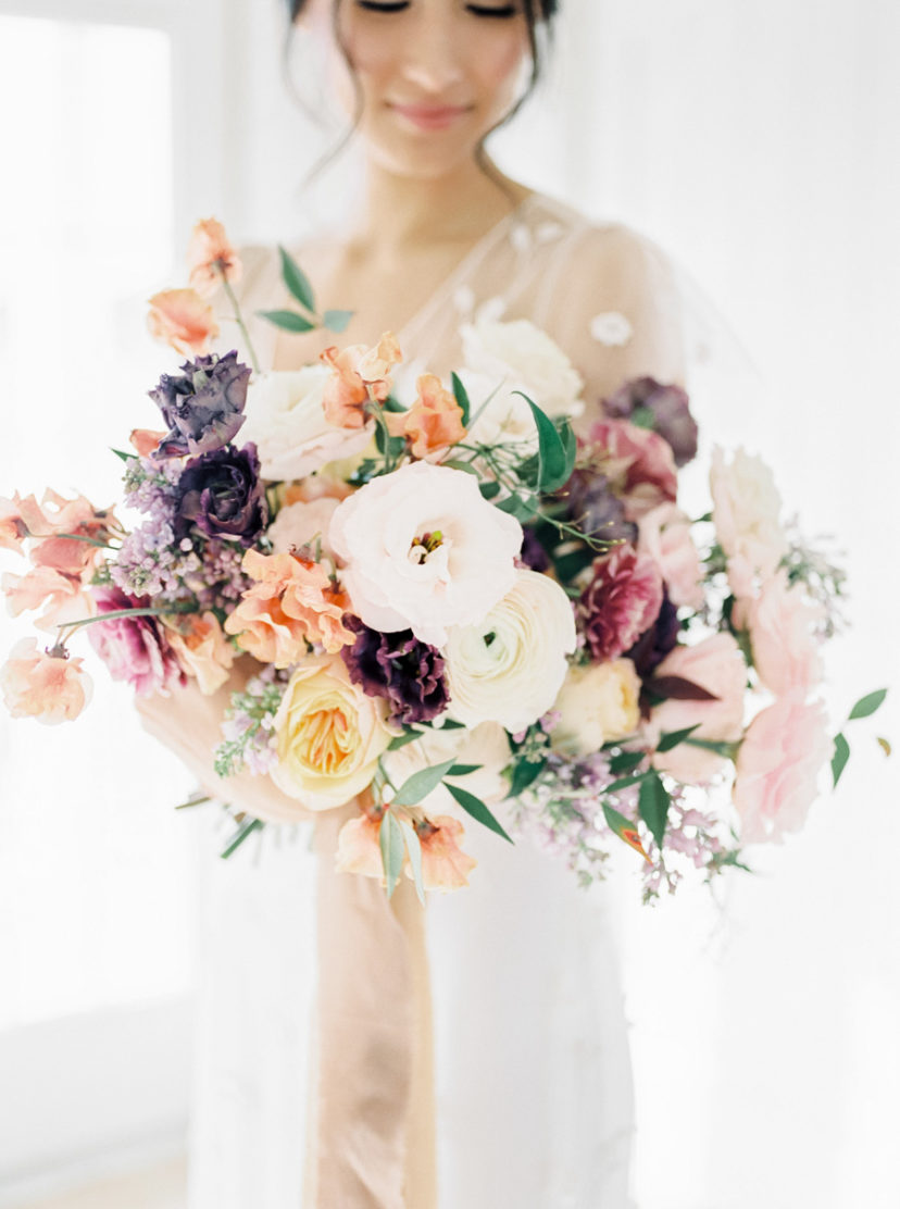 Dreamy Purple Wedding Inspiration for the Trendy Bride