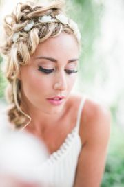 wedding hairstyles medium length