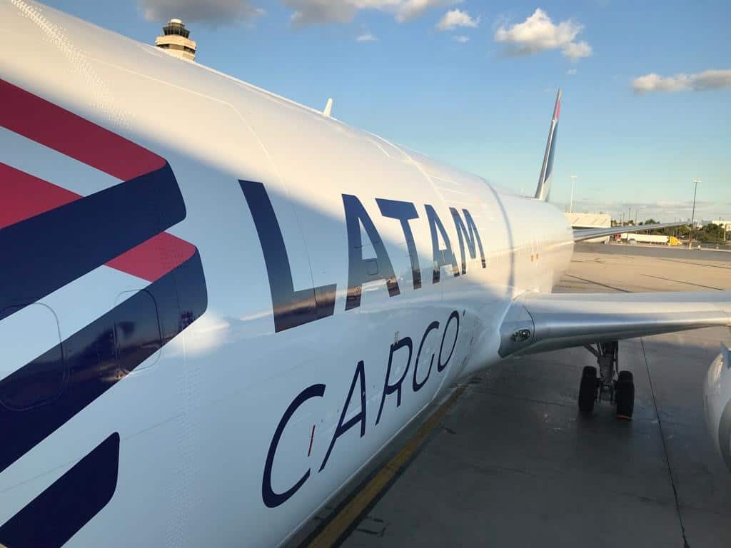 LATAM Cargo starts two freighter services from US to Colombia - FreightWaves