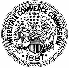The seal of the Interstate Commerce Commission.