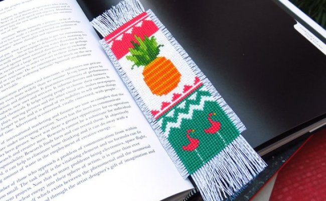 Cross Stitch Bookmark Patterns For Every Kind Of Reader