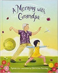 Cover of A Morning with Grandpa by Liu
