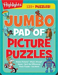Featured Jumbo Pad from Picture Puzzles