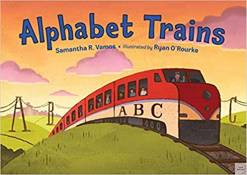 Alphabet Trains cover Samantha R Vamos