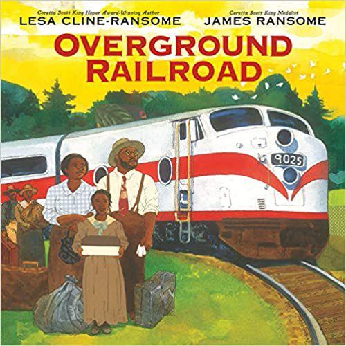 Overground Railroad Lesa Cline-Ransom cover