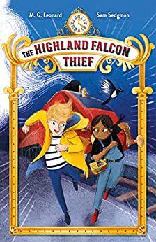 The Highland Falcon Thief MG Leonard cover