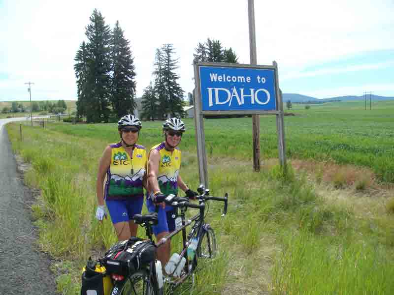 Idaho border crossing
