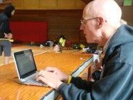 Spencer blogging