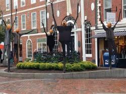 metal scarecrows