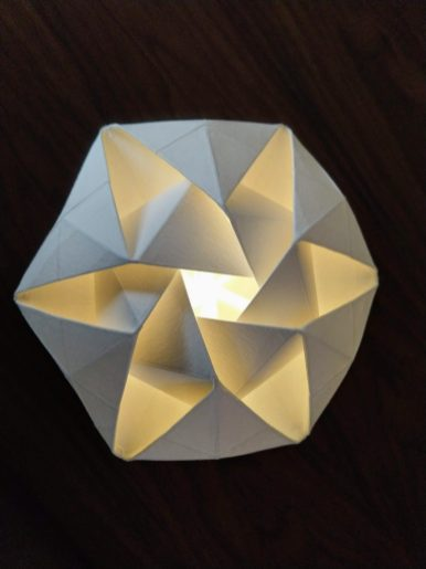 5-origami light