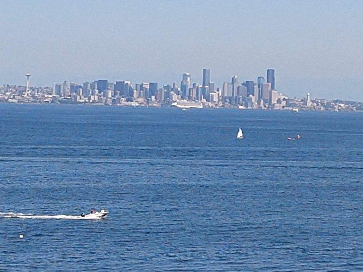 Seattle skyline from BI