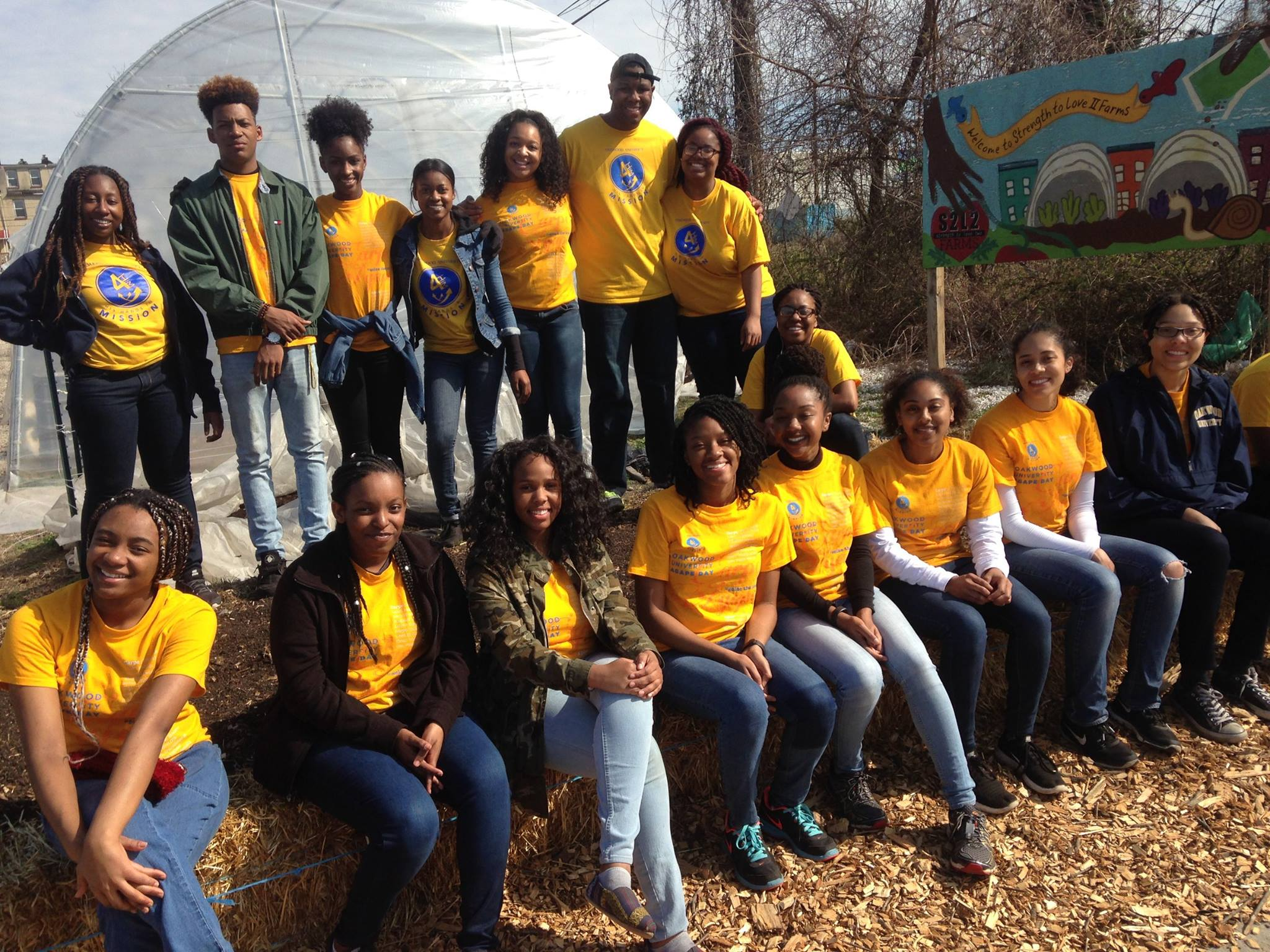 Oakwood University volunteer team