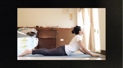 夏日抒心筋經瑜珈練習篇-第三式:眼鏡蛇式
