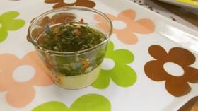 離乳食後期~:あんかけ茶わん蒸し,離乳食,茶碗蒸し,