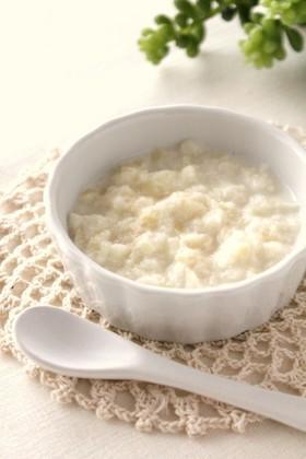 離乳食❤中期*ミルクのパン粥*,離乳食,牛乳,いつから