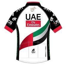 半袖ジャージ/UAE team Emirates UCIプロチーム2017モデル(Race Cut) 背面