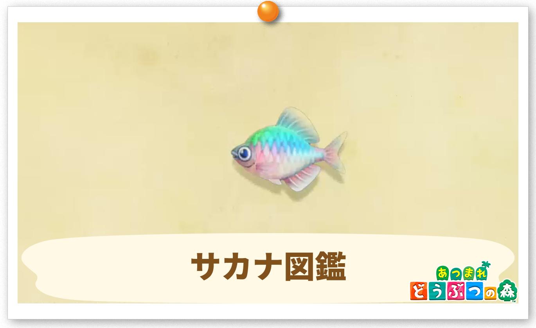 あつ森 虫 魚