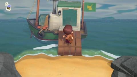 あつ森 船 入れない