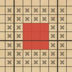攻撃 ビッグボス 7×7マス