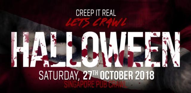 Image result for Singapore Halloween Pub Crawl 2018