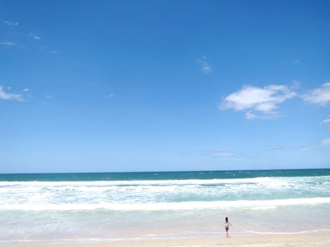 オーストラリア親子留学中にお楽しみいただけるゴールドコーストのビーチ
