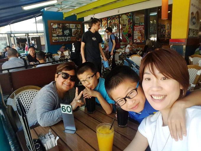 オーストラリア親子留学 ホストマザーと仲良くお出かけしました!
