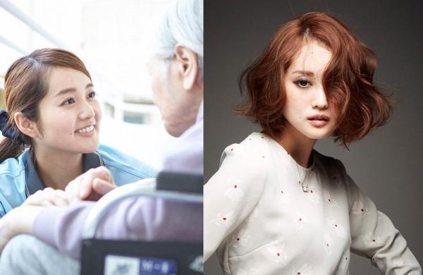 上条百合奈さんの仕事は介護士。週末だけモデル活動をするという