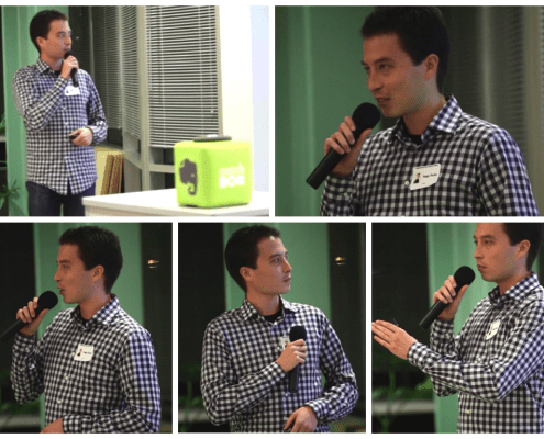 Tiago Forte presenting at Silicon Valley Quantified Self meetup (November 2013)