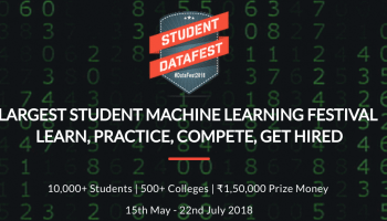 9987c4cc0a0 Launching Student DataFest 2018 - The Largest Student Machine Learning  Festival