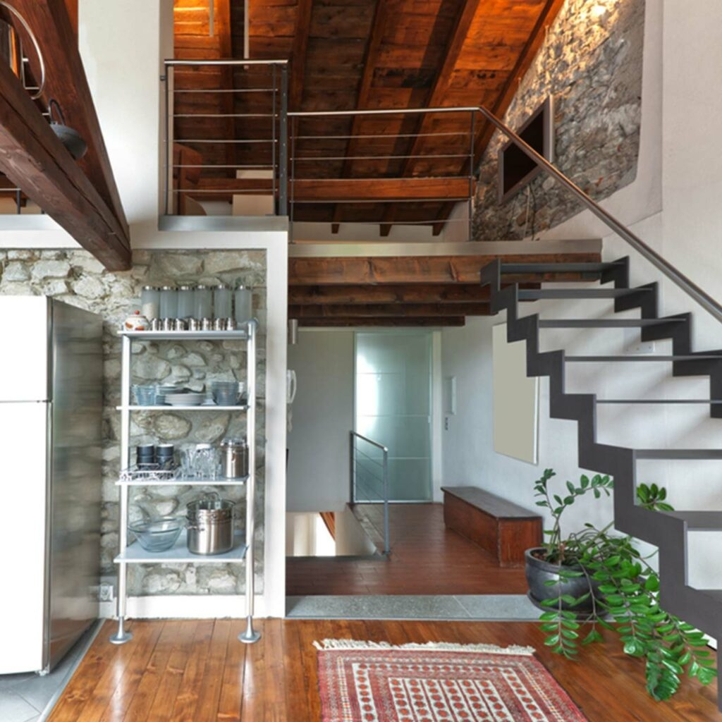 Beautiful Duplex House Interior Design In India Design Cafe | Interior Staircase Designs For Indian Homes