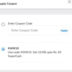 Mobikwik Coupon Code