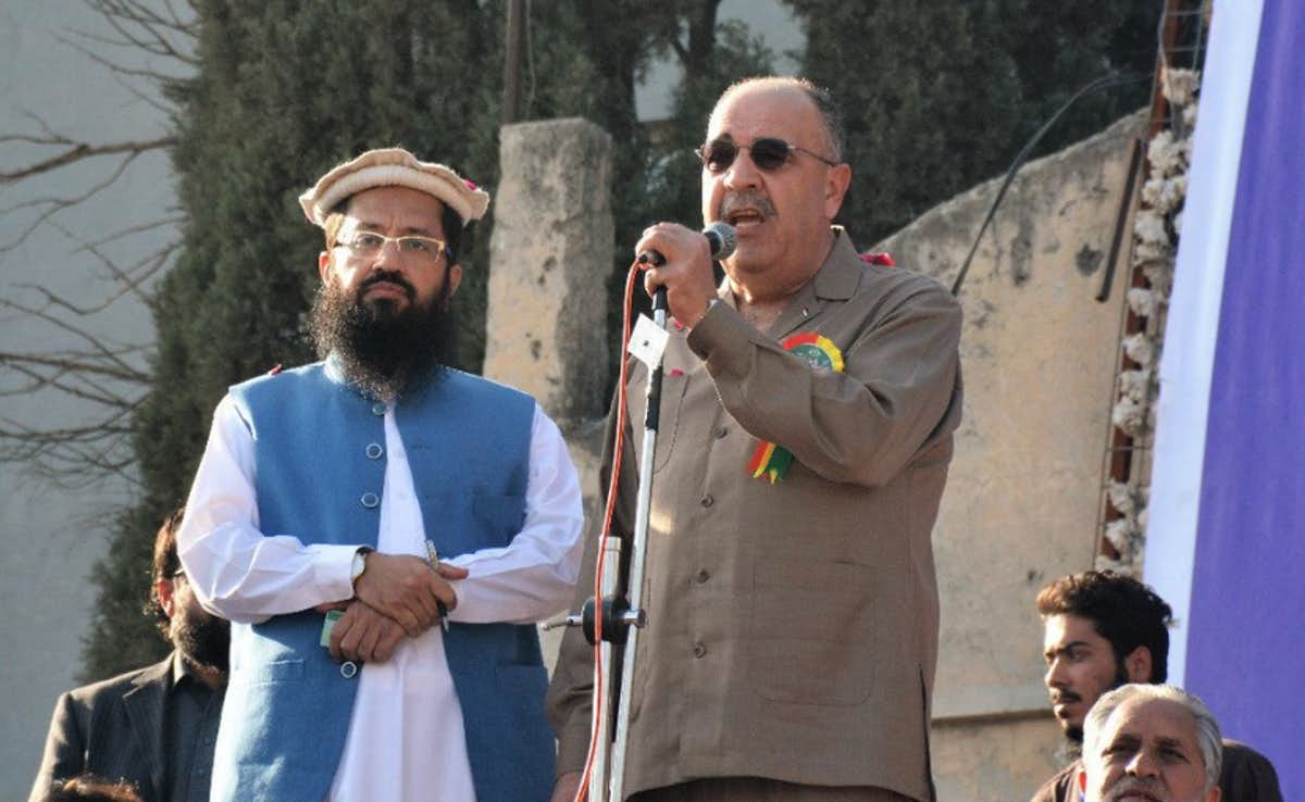 India exhaust over Hafiz Saeed and Palestine's Pakistan envoy shared same platform