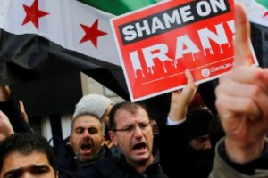 The protests started out as local rallies against Iran's economic problems but have since spread. Credit: Reuters