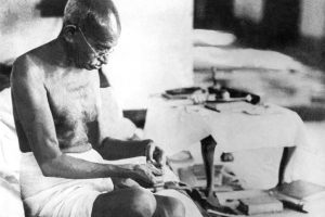 Mahatma Gandhi. Credit: Wikimedia Commons