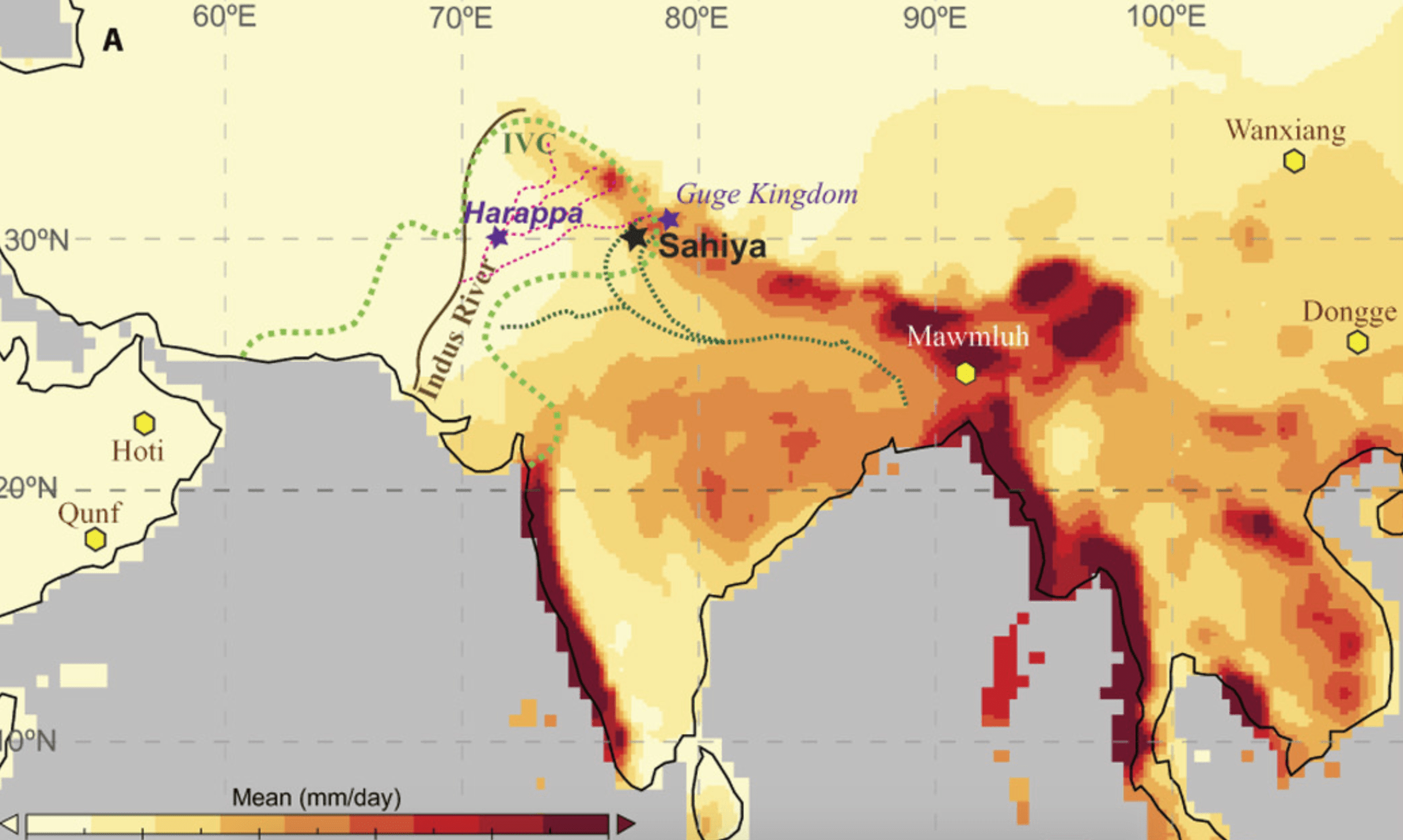 A Story Of Monsoons And The Indus Civilisation Teased Out Of Ancient Rock