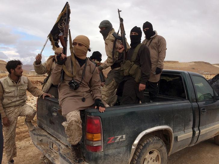 Al Qaeda-linked Nusra Front fighters, December 1, 2015. (Representational Image) Credit: Reuters/Stringer/Files