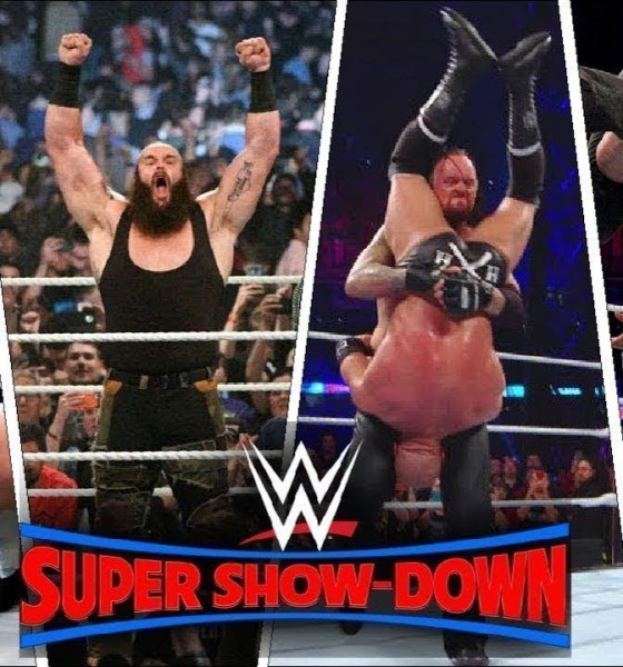 WWE Super ShowDown 2018 Highlights