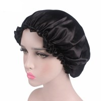Women Night Sleep Night Sleeping Silk Hat Hair Head Cover