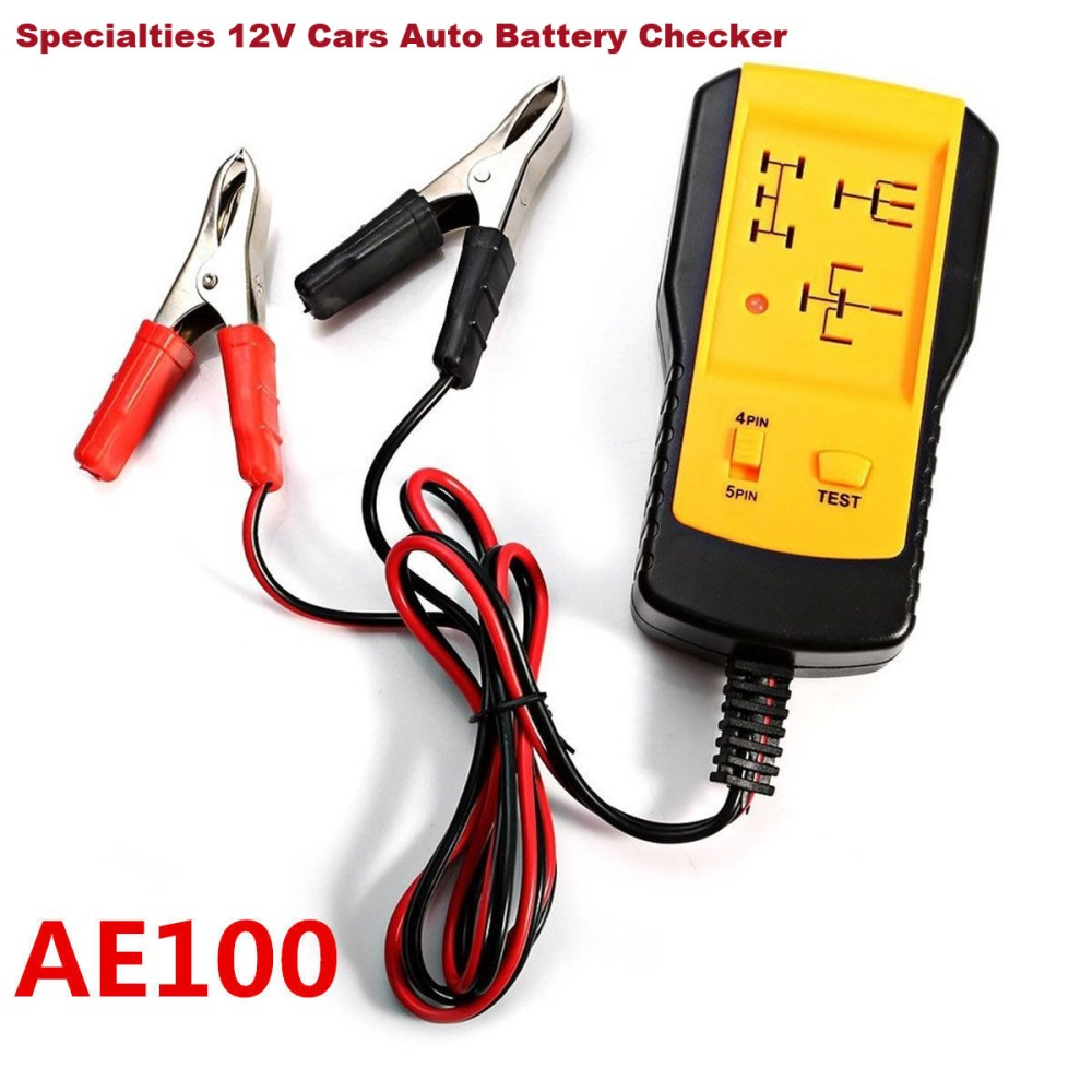 medium resolution of details about specialties 12v cars auto battery checker electronic automotive relay tester
