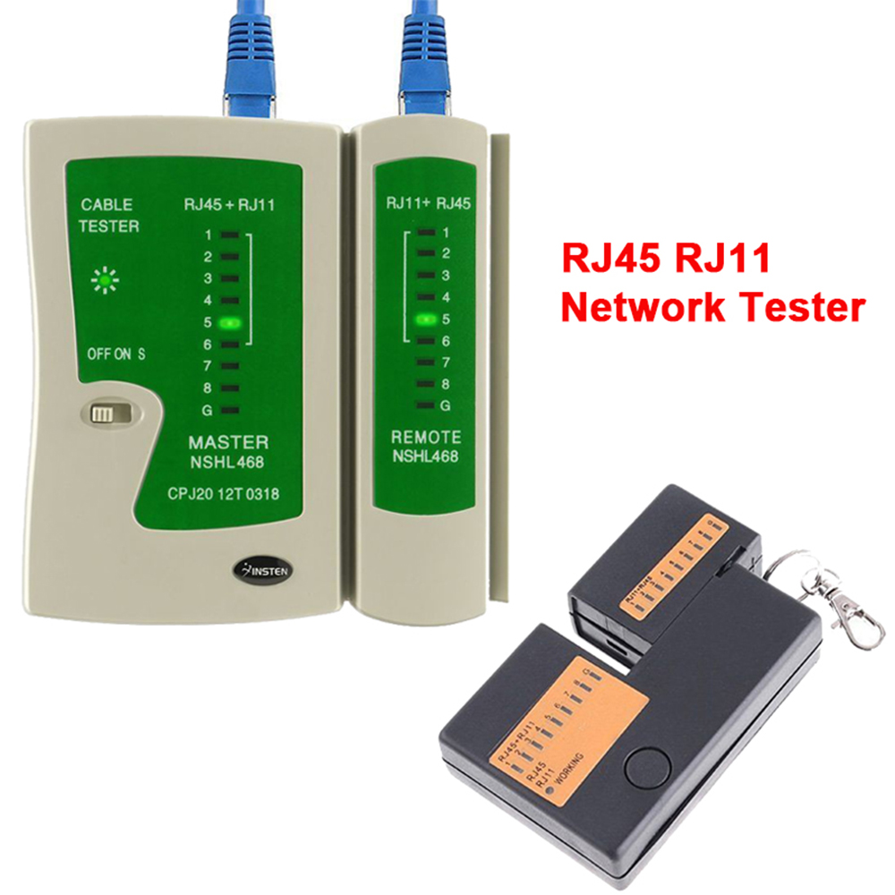 medium resolution of details about professional rj45 rj11 cat5e cat6 super network lan cable tester test tool