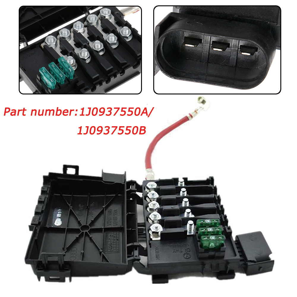 medium resolution of details about fuse box battery terminal for vw jetta golf bora mk4 99 10 beetle 1j0937550a b